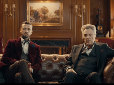 Christopher Walken reading *NSYNC lyrics in this Super Bowl ad alongside Justin Timberlake is everything