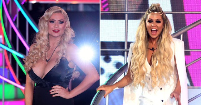 Bianca Gascoigne (R) and Nicola McLean (L) were the first to get the boot on the Celebrity Big Brother final (Picture: REX/PA)