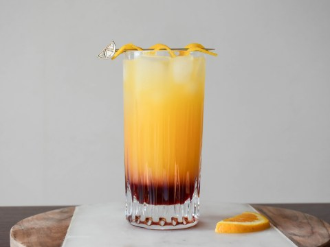 Cocktail recipe video: Here's how to make a Gin Sunrise
