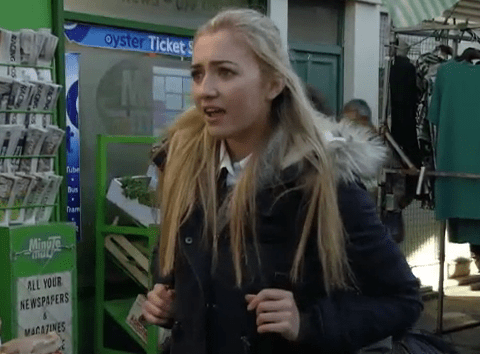 EastEnders spoilers: Sex picture horror for Louise Mitchell and Bex Fowler