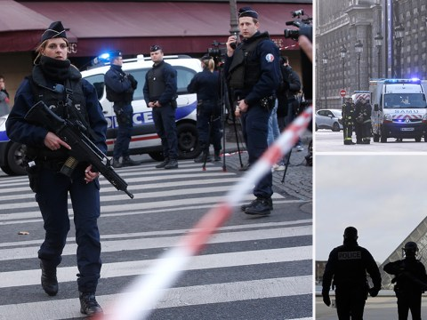 Knifeman shouted 'Allahu akhbar' as he attacked soldier at the Louvre in Paris