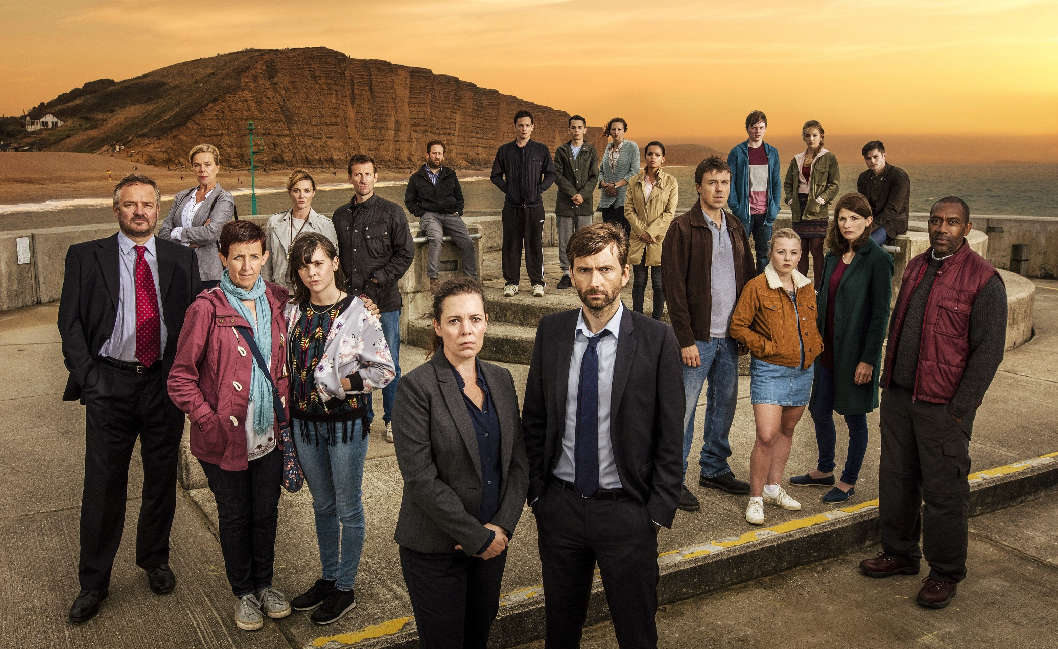 Even the cast of Broadchurch are being kept in the dark about what happens in series 3