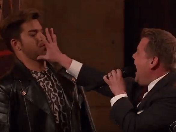 James Corden and Adam Lambert had a 'Queen-off' and it was epic