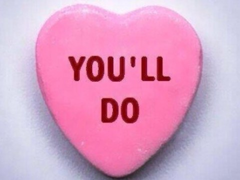 To celebrate Valentine's Day, people are creating their own bitter Love Hearts