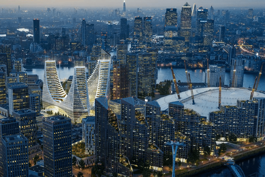 First images of spectacular £1bn glass landmark at North Greenwich