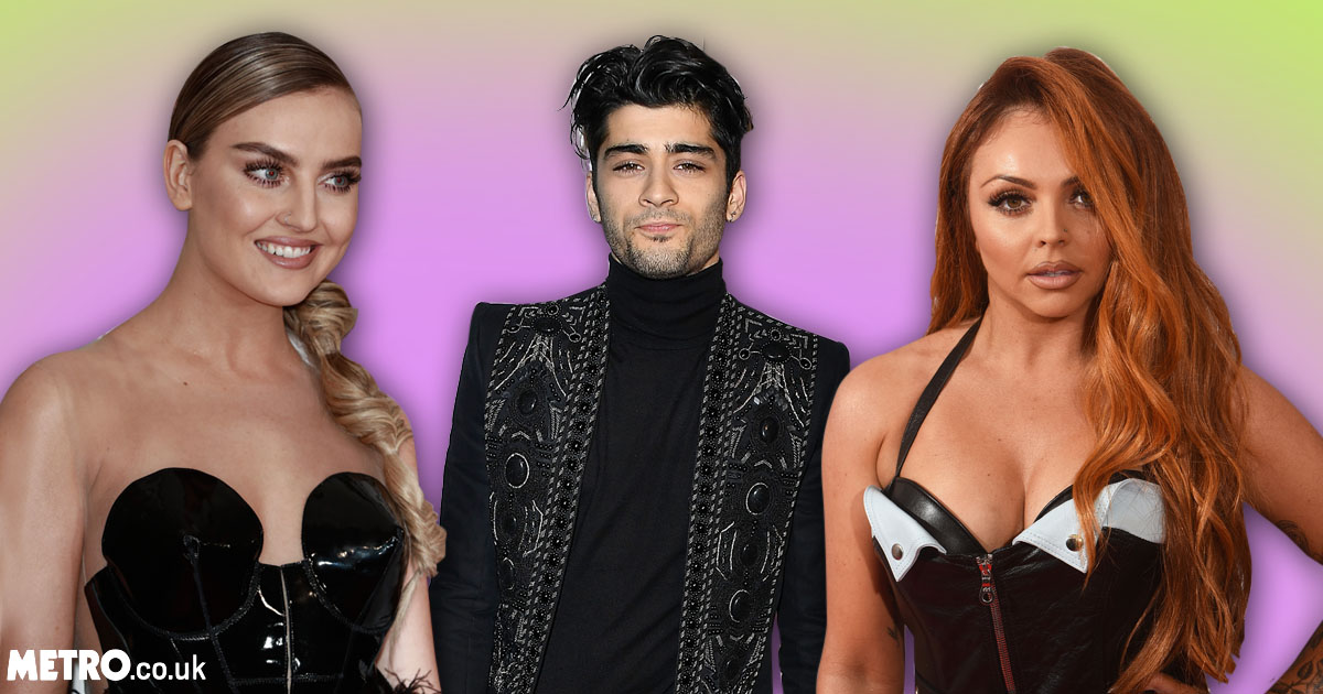 Perrie Edwards tells Jesy Nelson to 'shut up' after namechecking Zayn in post-Brits 2017 interview