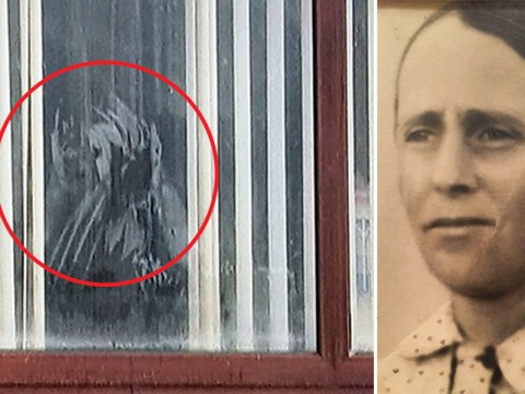 Ghost hunter claims picture shows spirit of old lady haunting bungalow