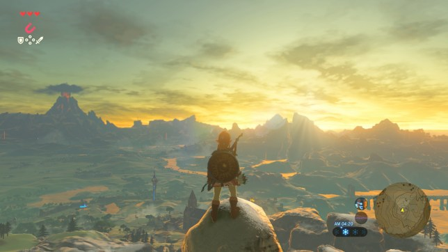 The Legend Of Zelda: Breath Of The Wild - takes you breath away