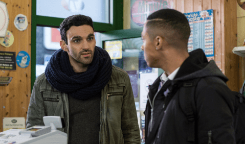 EastEnders spoilers: Reunion for Kush Kazemi and Denise Fox as he defends her against nasty Keegan?