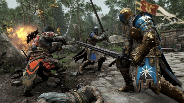 For Honor (PS4) - they dance when e'er they're able
