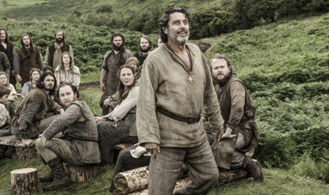 (Picture: HBO) Ian Mcshane lashes out at GOT fans