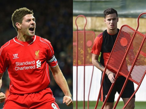 Philippe Coutinho can't recreate classic Steven Gerrard goal for Liverpool