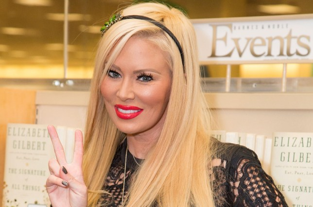 "LOS ANGELES, CA - OCTOBER 25: Actress Jenna Jameson signs copies of her new book ""Sugar"" at Barnes & Noble bookstore at The Grove on October 25, 2013 in Los Angeles, California. (Photo by Vincent Sandoval/WireImage)"