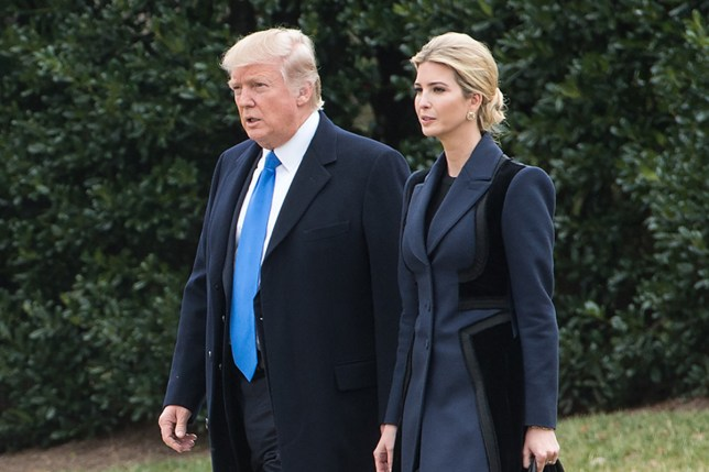 Ivanka Trump apparently stepped in (Picture: AFP/Getty Images)