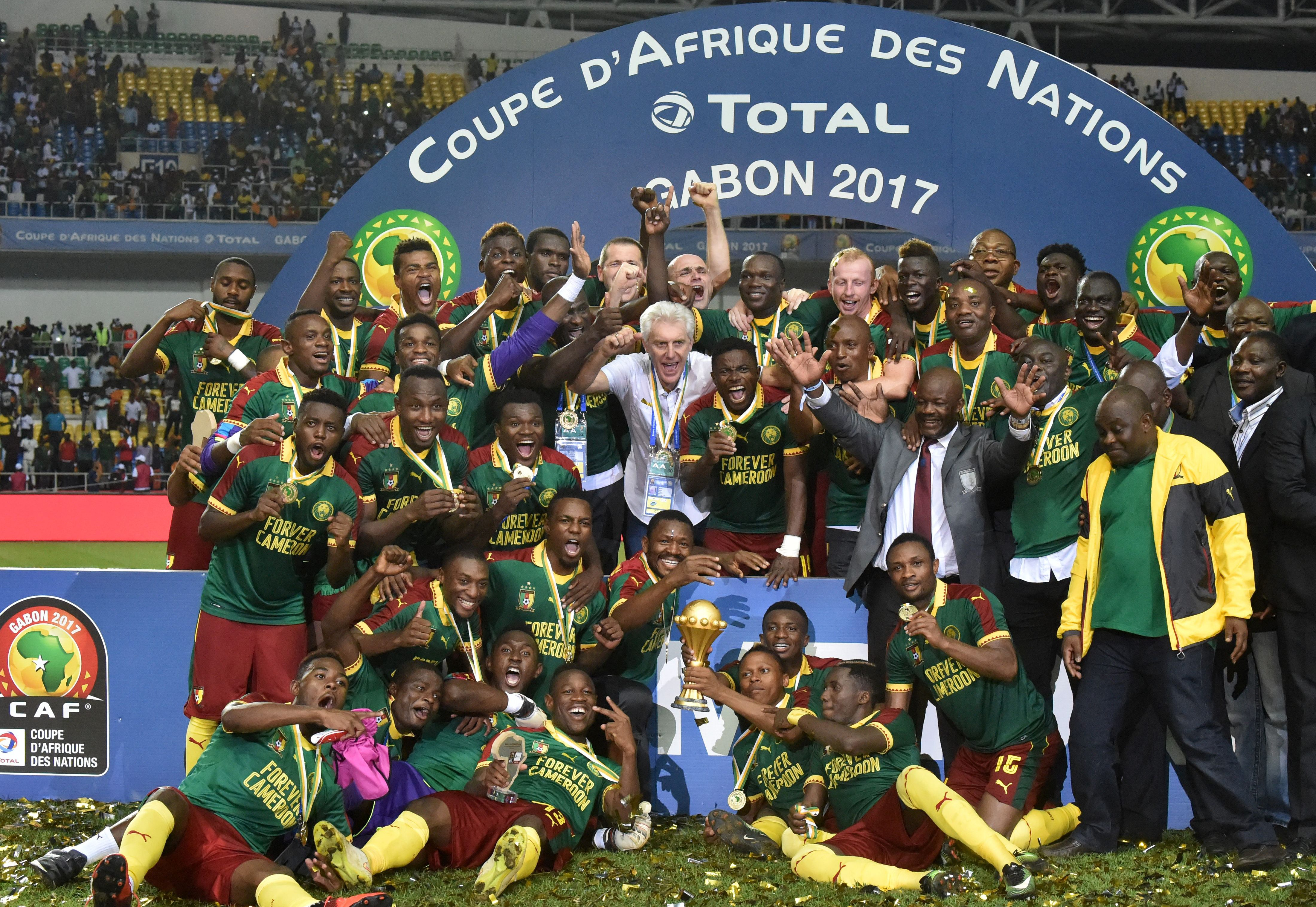 Cameroon beat Egypt in AFCON final after second half comeback