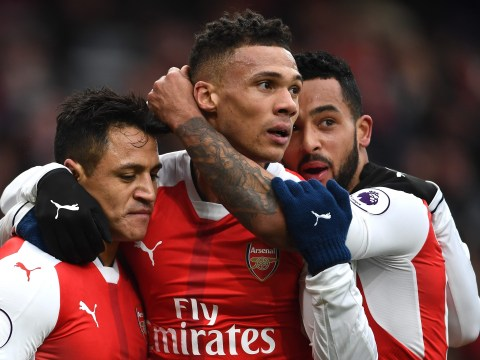 Kieran Gibbs lucky to escape red card for Arsenal after clear last-man foul