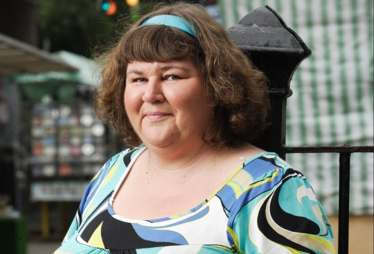 Picture shows: Heather Trott [CHERYL FERGISON]. Generic    WARNING: Use of this copyright image is subject to Terms of Use of Digital Picture Service.  In particular, this image may only be used during the publicity period for the purpose of publicising EASTENDERS and provided the BBC is credited.  Any use of this image on the internet or for any other purpose whatsoever, including advertising or other commercial uses, requires the prior written approval of the BBC.