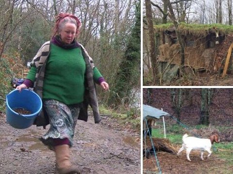 Woman facing eviction from mud hut which 'cures allergy to modern life'