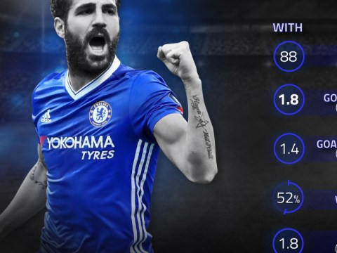 Statistics show Chelsea are much better WITHOUT Cesc Fabregas in the team