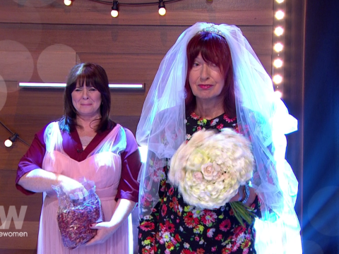 Janet Street-Porter got married to herself on Loose Women and Frank Lampard conducted the ceremony