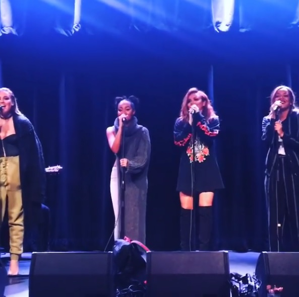 Little Mix's Jesy Nelson swears mid song after failing to hit the high note during US tour
