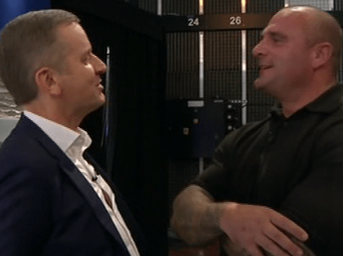 Jeremy Kyle embarrasses security guard Steve by getting him to speak in a Welsh accent