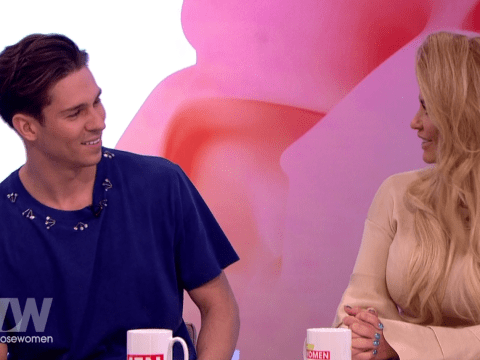 Katie Price gets flirty with Joey Essex on Loose Women but loses out to Coleen Nolan