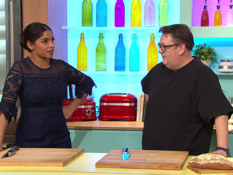 'Hilarious' Johnny Vegas is co-hosting Sunday Brunch and (nearly) everyone is loving it