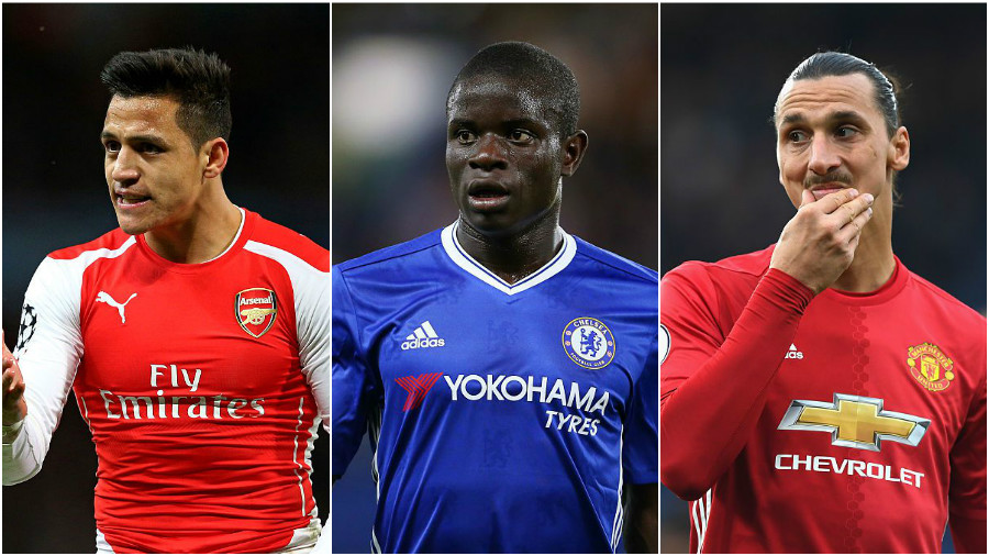 Chelsea midfielder N'Golo Kante should be named PFA Player of the Year, says Manchester United great Gary Neville