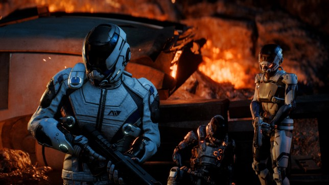Mass Effect: Andromeda - first contact