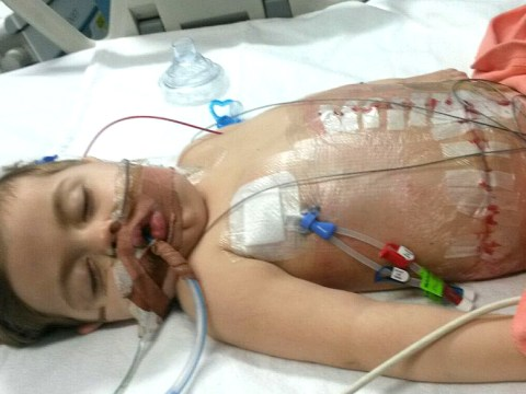 Brave mother donates two organs to save life of her son, four
