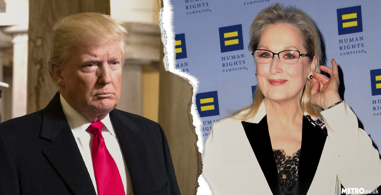 Meryl Streep attacks Donald Trump again in passionate speech about freedom