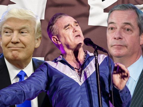 Morrissey announces first live date of 2017 and mocks President Donald Trump in the process