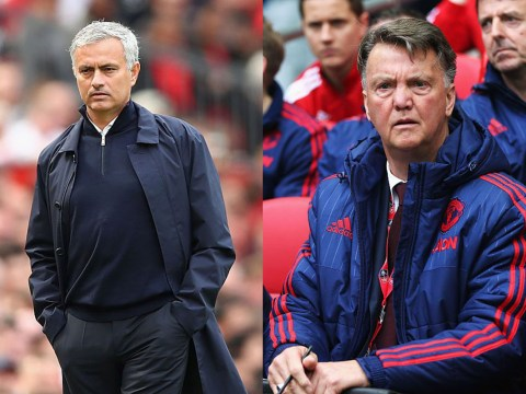 Jose Mourinho has axed a screen Louis van Gaal used to separate players from Man Utd staff