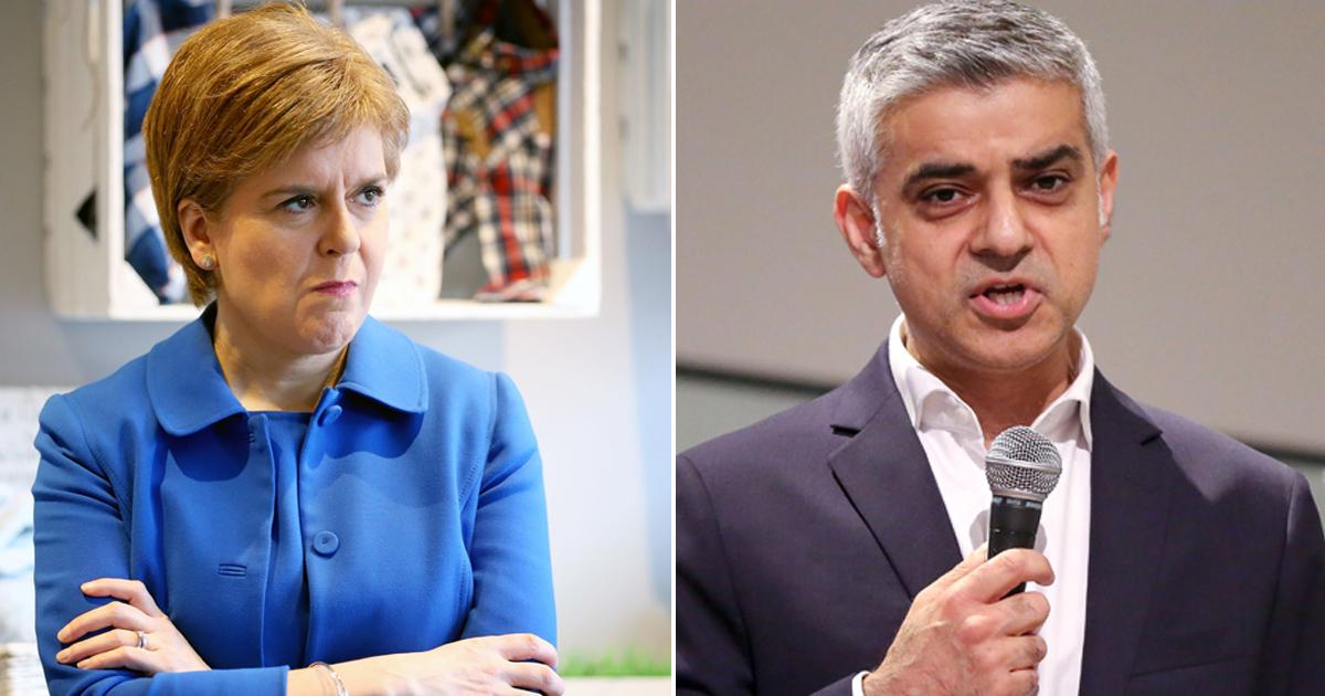 Sadiq Khan compared Scottish nationalism to racism