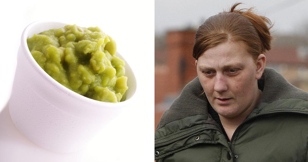 Karen Matthews has mushy peas 'thrown over her' at fish and chip shop