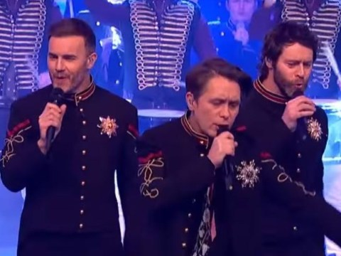 WATCH: Take That rock BBC One as they round off medley of hits with stirring performance of Let It Shine