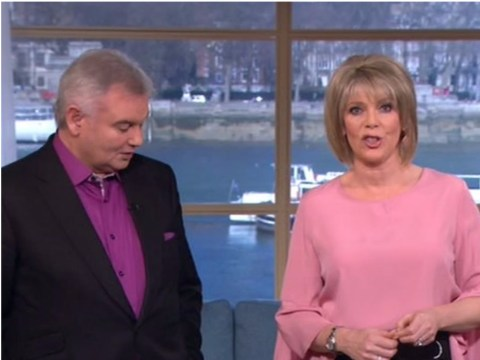 Pamela Anderson cringes as Eamonn Holmes insults his wife Ruth Langsford