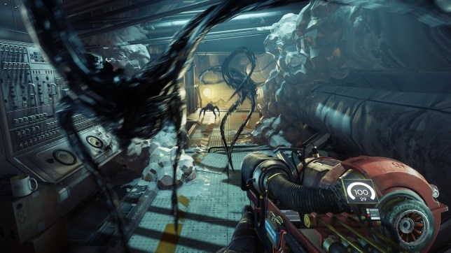 Prey - the GLOO gun is a wonderful tool