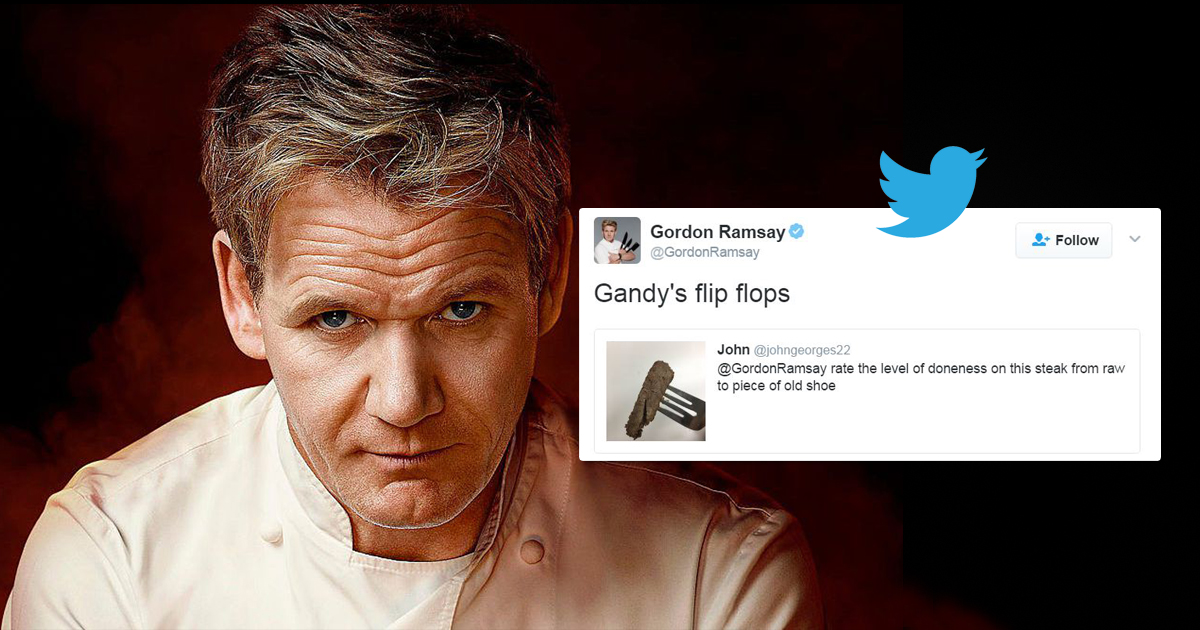Gordon Ramsay is taking wannabe cooks down with brutal insults