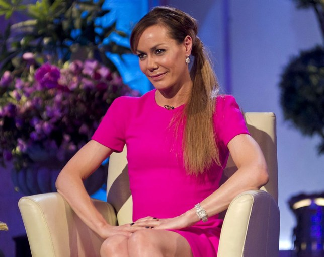 Editorial Use Only - No Merchandising Mandatory Credit: Photo by Steve Meddle/REX/Shutterstock (1625848e) Tara Palmer-Tomkinson 'The Alan Titchmarsh Show' TV Programme, London, Britain - 21 Feb 2012
