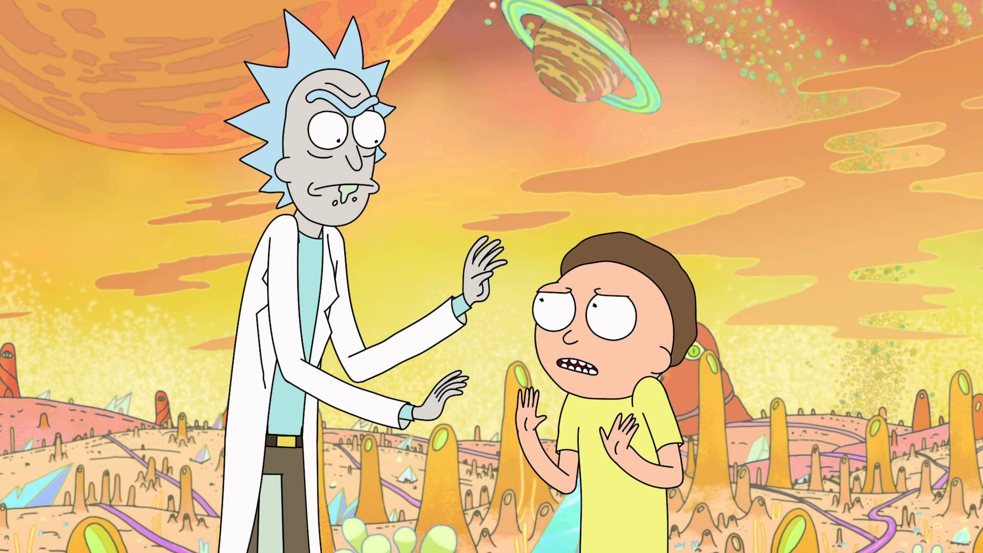 Rick and Morty has been a breakout animated show (Picture: Adult Swim)