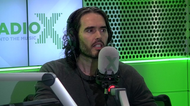 Russell Brand has compared fatherhood to dropping LSD (Picture: Radio X)