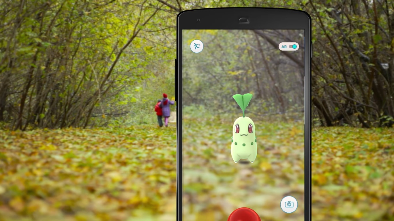 Chikorita is just one of a 80 new critters in the app