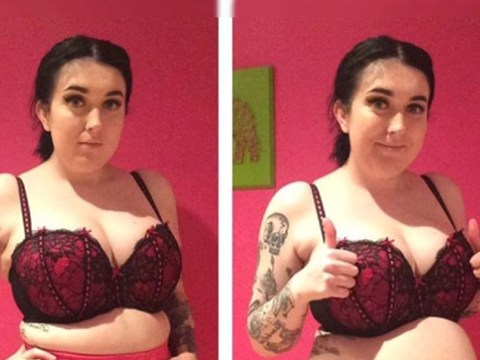 Woman posts side-by-side photos wearing Spanx to make an important point about body confidence