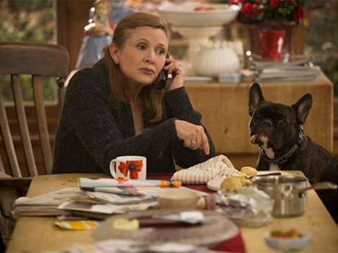 Carrie Fisher's last TV role in the new series of Catastrophe will be 'bigger and chunkier'