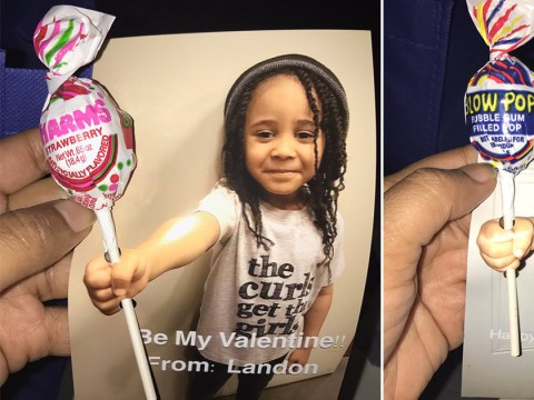 This 4-year-old won Valentine's Day with his adorable handmade cards