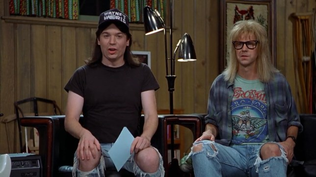 Image result for wayne's world movie pictures