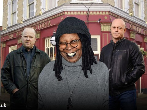 Whoopi Goldberg confesses she's a massive EastEnders fan and loves the 'beautiful' Mitchell brothers