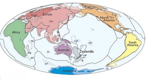 Map Of Australia 50 Million Years Ago.Scientists Are About To Drill Into Earth S Mysterious Lost